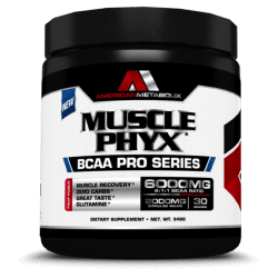 musclephyx bcaa pro series