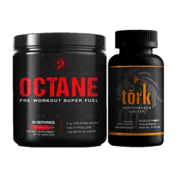 Relentless Octane and Tork Stack